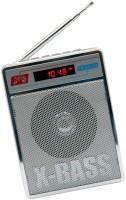 CRETO SL-413 Portable USB / SD Player With FM Radio(Silver White)