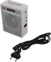 CRETO New SL-413 Super Sound Fm/Radio Supports USB Pen-drive, Aux and Memory card FM Radio(Silver White)