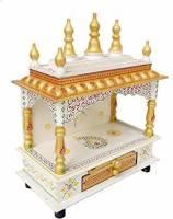 kamdhenu art and craft Metal Home Temple