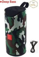 Techobucks 100% Best Quality Bluetooth Wireless Speaker HIGH BASS Super Sound Audio System /Water Resistent/Splashproof Portable FM /USB/AUX SD Card Supported/With High Sound Subwoofer 10 W Bluetooth Laptop/Desktop Speaker(ARMY, 4.1 Channel)