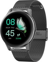 French Connection Touch screen smartwatch with extra belt Smartwatch(Black Strap, Free Size)