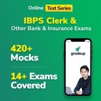 Gradeup IBPS Clerk Mocks Test Preparation(Voucher)
