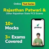 Gradeup Rajasthan Patwari Mocks Test Preparation(Voucher)