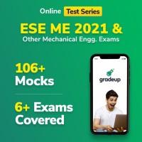Gradeup ESE(IES) Mechanical Mocks Test Preparation(Voucher)