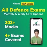Gradeup Defence Exams Mocks Test Preparation(Voucher)