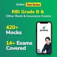 Gradeup RBI Grade B Mocks Test Preparation(Voucher)