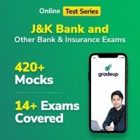 Gradeup J&K Bank Mocks Test Preparation(Voucher)