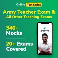 Gradeup Army Teacher Mocks Test Preparation(Voucher)
