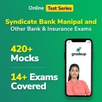 Gradeup Syndicate Bank Mocks Test Preparation(Voucher)