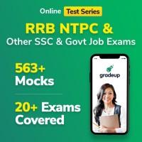 Gradeup RRB NTPC Mocks Test Preparation(Voucher)