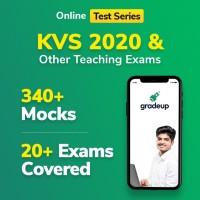 Gradeup KVS PGT/PRT Mocks Test Preparation(Voucher)
