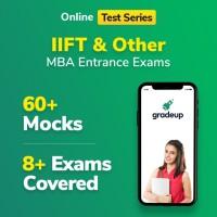 Gradeup IIFT Mocks Test Preparation(Voucher)