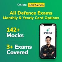 Gradeup Under-Grad Defence Mocks Test Preparation(Voucher)