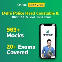 Gradeup Delhi Police HC Mocks Test Preparation(Voucher)