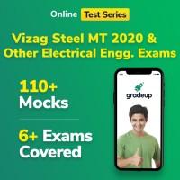 Gradeup Vizag Steel EE Mocks Test Preparation(Voucher)