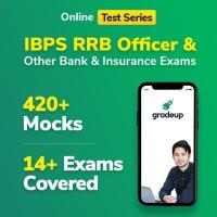 Gradeup IBPS RRB Officer Mocks Test Preparation(Voucher)