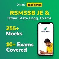 Gradeup RMSSSB JE Civil Mocks Test Preparation(Voucher)