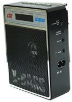 CRETO SL-413 Music Player Fm Radio Supports USB pen-drive, aux memory card FM Radio(Black)