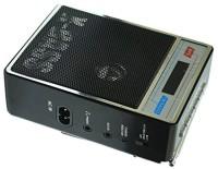 CRETO SL-413 High Quality Sound Fm/Radio Supports USB pen-drive, aux memory card FM Radio(Black)