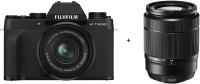 Fujifilm X Series X-T200 Mirrorless Camera Body with 15-45 mm + 50-230 mm Dual Lens Kit(Black)