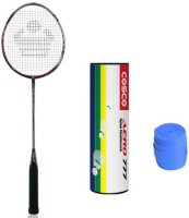 Cosco Cbx 450 With Aero 777 Nylon Shuttlecock And 1 Grip Badminton Kit