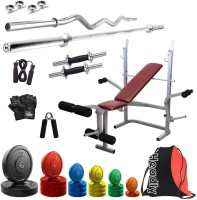 Headly Premium CP-HR-72KGCOMBO8 Coloured Home Gym Kit