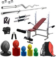 Headly Premium CP-HR-85KGCOMBO8 Coloured Home Gym Kit