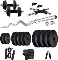KRX PVC 20 KG COMBO 3 WB Home Gym Kit