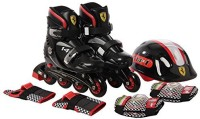 SWAGSPIN FK7-1 INLINE SKATE BLACK 30-33 Skating Kit