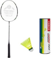 Cosco Cbx 222 With Aero 727 Nylon Shuttlecock Badminton Kit