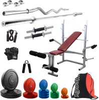 Headly Premium CP-HR-52KGCOMBO8 Coloured Home Gym Kit
