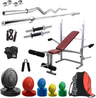 Headly Premium CP-HR-55KGCOMBO8 Coloured Home Gym Kit