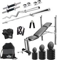 Headly 80 kg Combo BB 8 Convenient Home Gym Kit