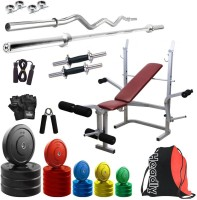 Headly Premium CP-HR-100KGCOMBO8 Coloured Home Gym Kit