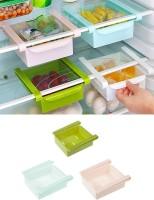 Inddus Fridge tray Plastic Kitchen Rack(Multicolor)