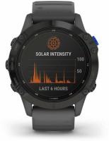 GARMIN Fenix 6 Pro Solar 010-02410-40 Smartwatch(Grey Strap, m)