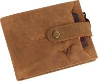 Bonbird Men Casual, Trendy Tan Genuine Leather Wallet(11 Card Slots)
