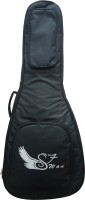 swan7 Double Foam Heavy Padded Black Electric Classical Acoustic Guitar Gig Bag Guitar Bag