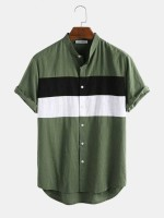 BEING REAL Men Striped Casual Multicolor Shirt
