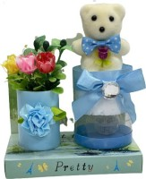 thedreams Soft Toy, Artificial Flower Gift Set