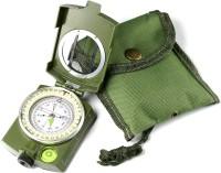 ZHENGTU Navigation Compass Multifunctional Waterproof Sighting Compass with Pouch Compass(Green)