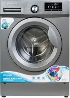 Sansui 9 kg Fully Automatic Front Load with In-built Heater Grey(JSX90FFL-2022C)