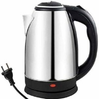 ONKARONUS Hot Water Pot Portable Boiler Tea Coffee Warmer Heater Cordless Electric Kettle Electric Kettle(1.8 L, Silver)