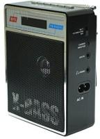CRETO SL-413 Best Quality Sound Fm Radio Supports USB pen-drive, aux memory card FM Radio(Black)