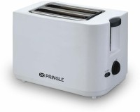 PRINGLE PT-402 750 W Pop Up Toaster(White)