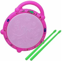 FRAONY Kids Drum Set, Drum Set for Kids Electric Toys Toddler Musical Instruments Playset Flash Light Toy with Adjustable Microphone(Multicolor)