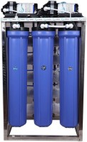 Hydroshell 50 LPH commercial RO water purifier Plant 50 Liter Per Hour Blue Stainless steel Tap Mount Water Filter