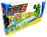 GoMerryKids Projection & Musical Strike Electric Toy Gun For Kids(Multicolor) Guns & Darts(Multicolor)