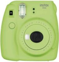 FUJIFILM Mini 9 INSTAX Mini 9 Instant Film Camera with 10X1 Pack of Instant Film With Pouch Instant Camera(Green)