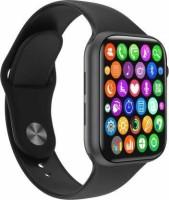 Clubics W26 Plus Smart Watch with Scroll working Smartwatch(Black Strap, Free Size)